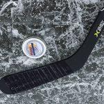 Hockey Stick Blade with a tin of Jack's Hockey Wax