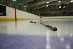 broken hockey stick needing hockey stick reapir