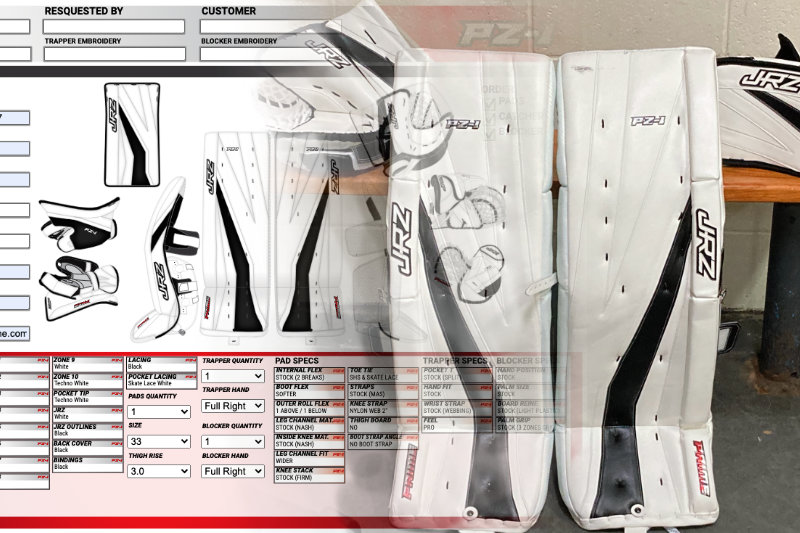 Custom Hockey Equipment design to reality